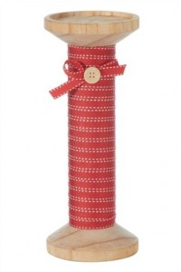 Bobbin and cotton reel homeware for a crafty cosy home