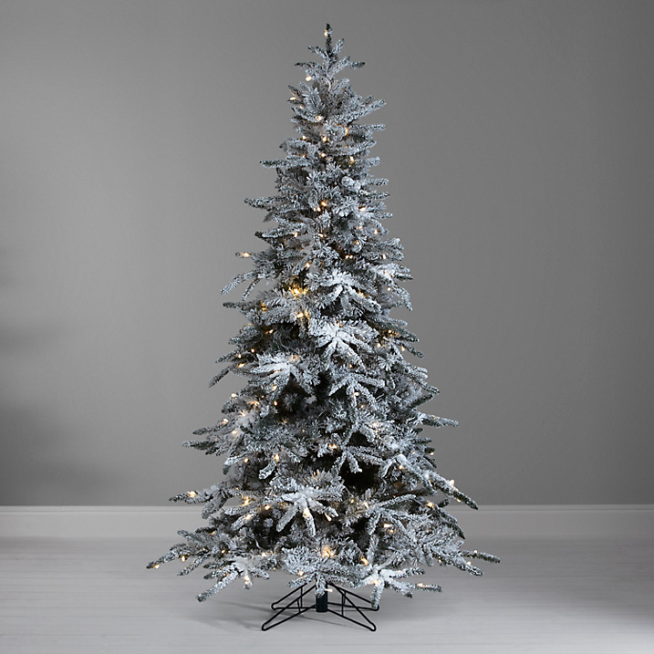 Realistic looking white pine christmas tree