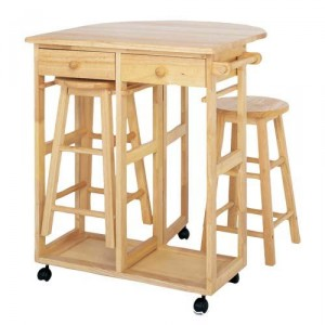 Kitchen stool and table