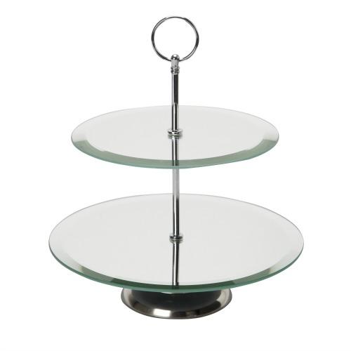 Mirrored Cake Stand