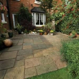 Bradstone garden paving