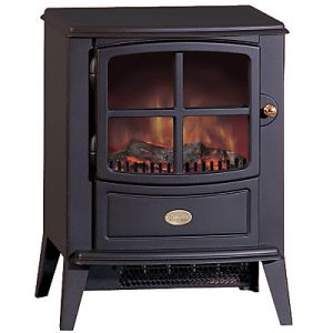 Woodburner electric fire stove for a cosy home