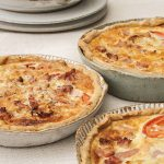 Cosy kitchen: Fluted ceramic quiche mould