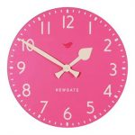 Newgate pink Tock wall clock from Feather & Black