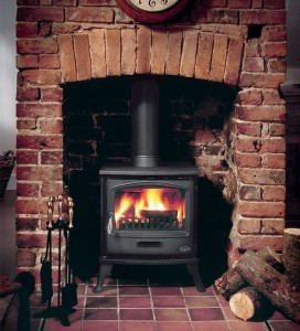 Add a cosy multi fuel stove to your cottage