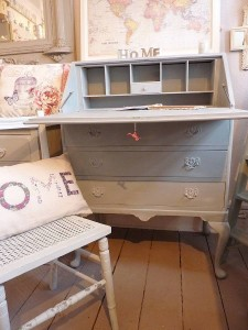 Vintage bureau writing desk
