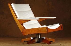 Designer chair by Brazilian designer Carlos Motta