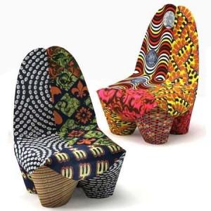 Moroso african Binta Armchair