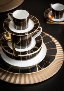 Elegant dinner ware range for a cosy home