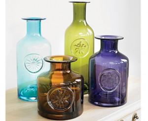 Original Dartington Crystal flower bottle design