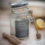 Perfect pancakes recipe storage jar