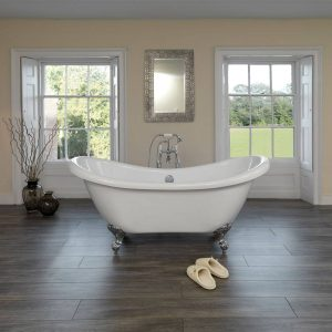 Luxury double ended classic bath