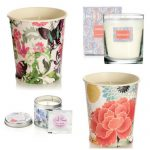 Spring floral scented home candles from Monsoon