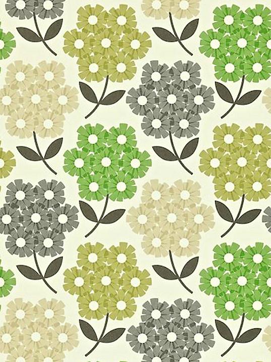 Designer Orla Kiely wallpaper decor