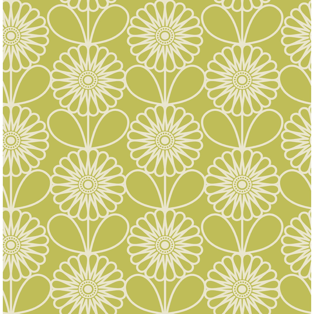 Spring greens: 10 green wallpaper decorating ideas | | Cosy Home Blog