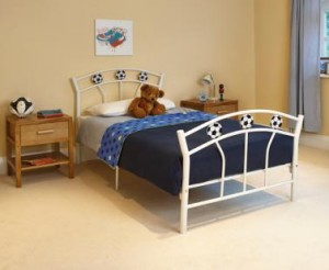 Single football bed