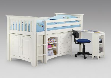 Cabin sleepstation bed for children's room