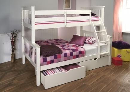 Multi purpose storage bunk bed for children's rooms