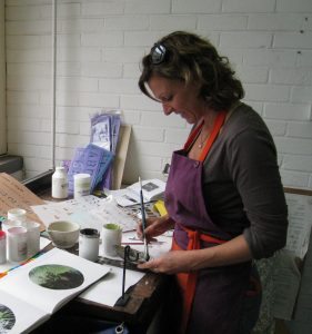 Glass with class: An interview with Kate Samuels, enamel artist
