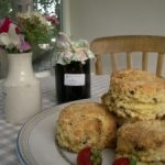 Indulge in the perfect afternoon tea with homemade scones