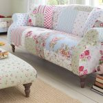 Vintage style patchwork sofa from Dfs