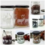 Limited edition animal silhouette jars from Aiga & Ginta