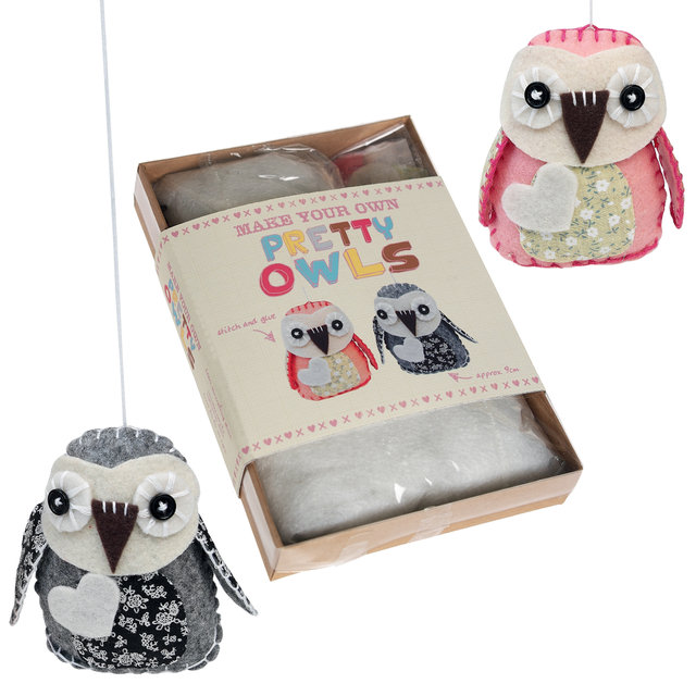 Make your own handmade owl