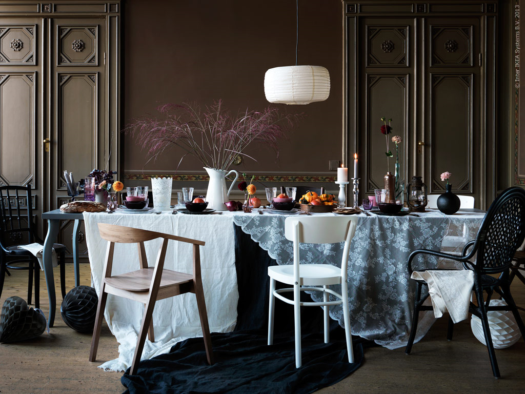 Cosy autumn home decor from Ikea