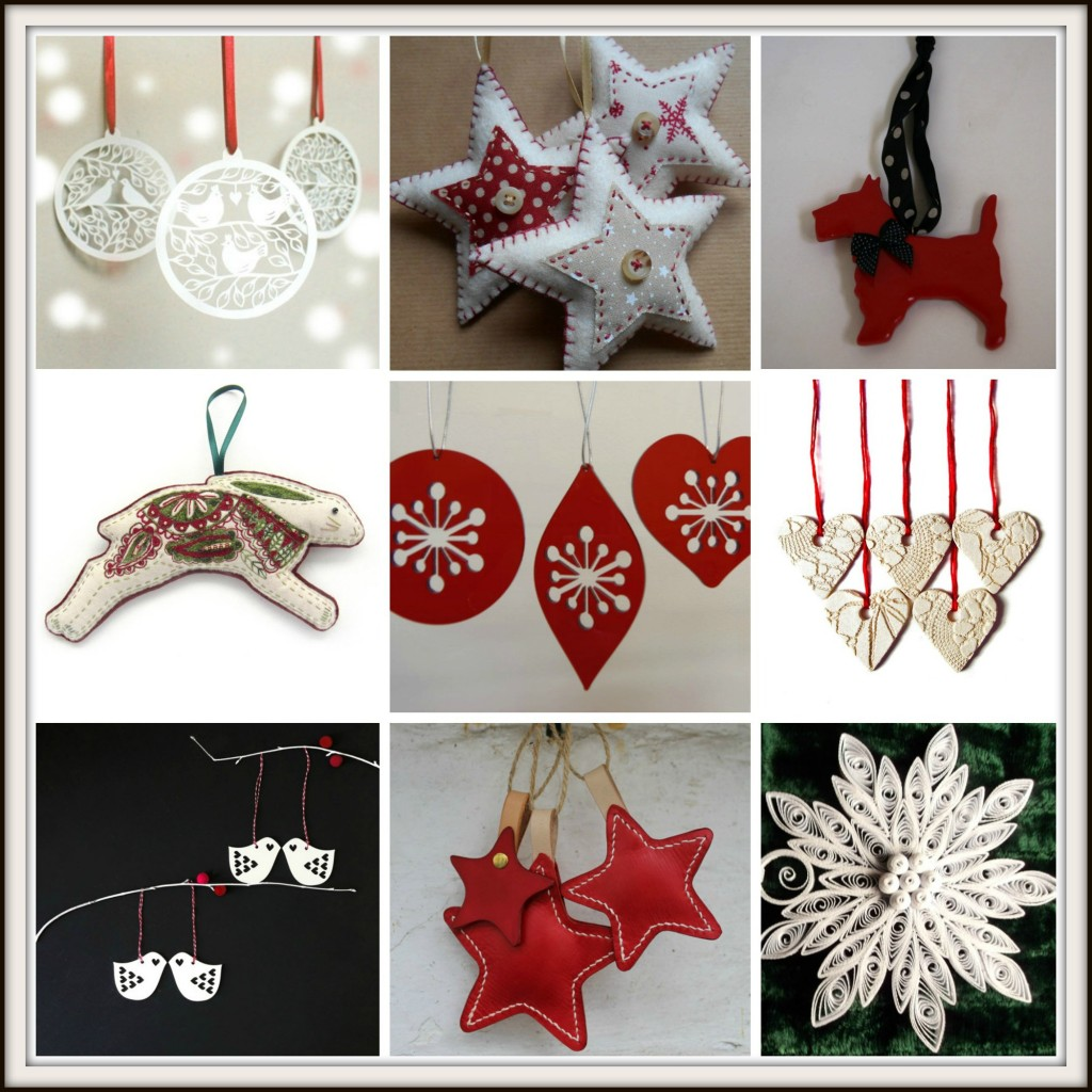 Keepsake Christmas home decorations