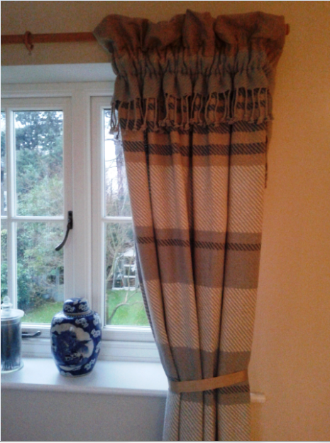 Handmade cosy home curtain