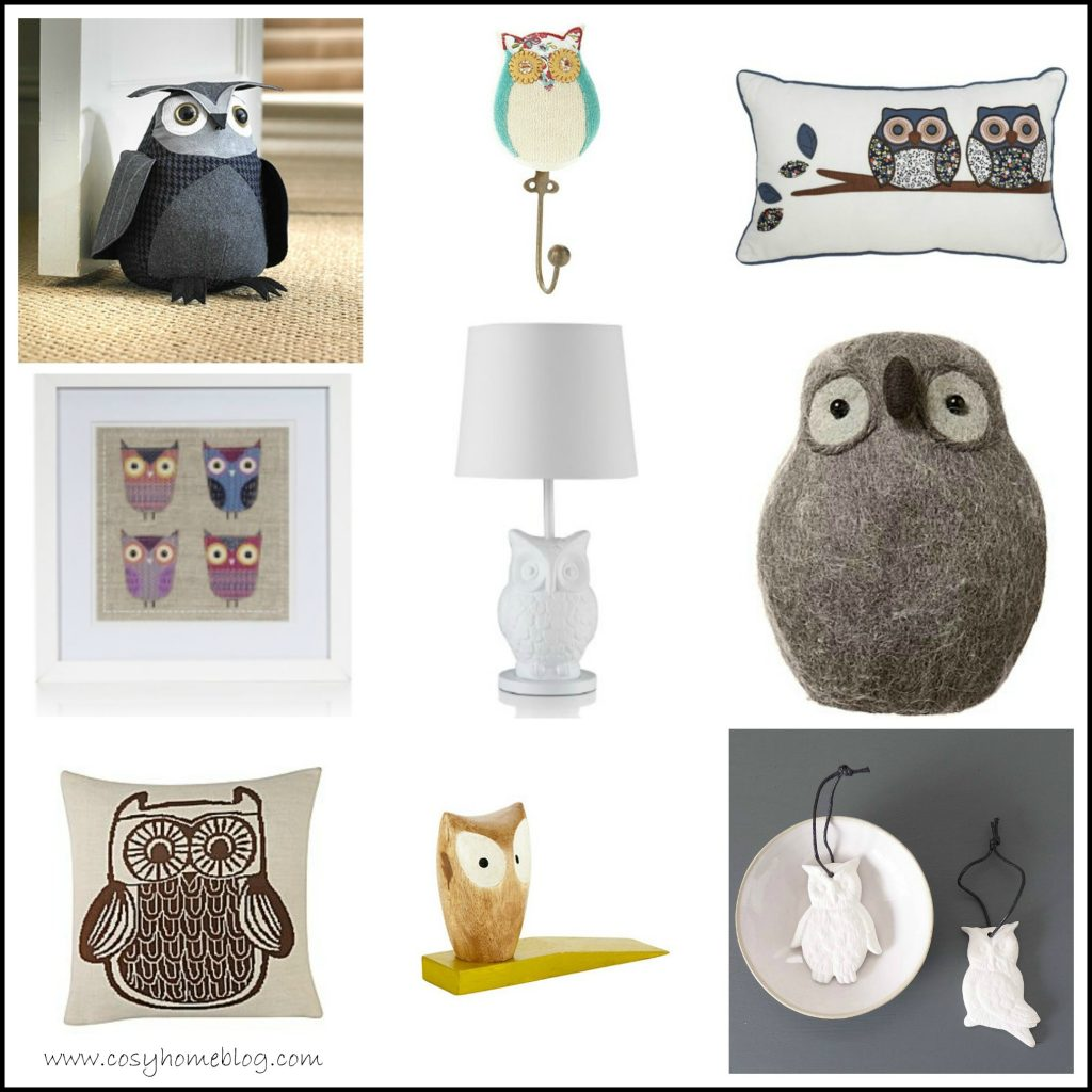 Accessorise your home with owls