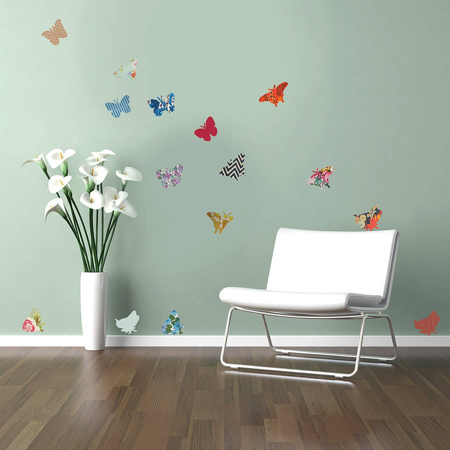 Vintage Style Butterfly Wall Decor