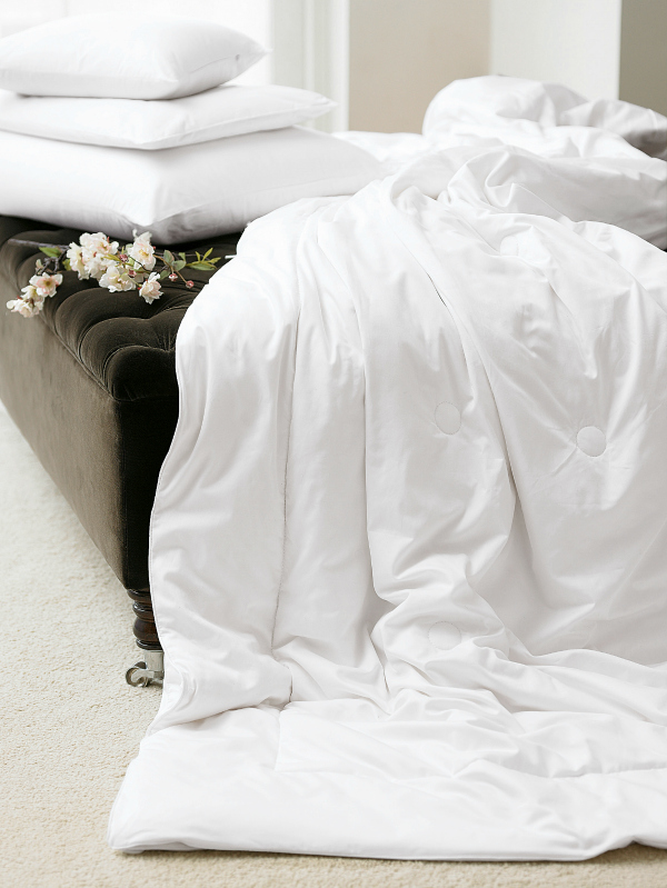 Luxury and cosy silk bedding