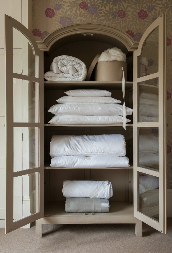 Cosy and luxurious silk duvets
