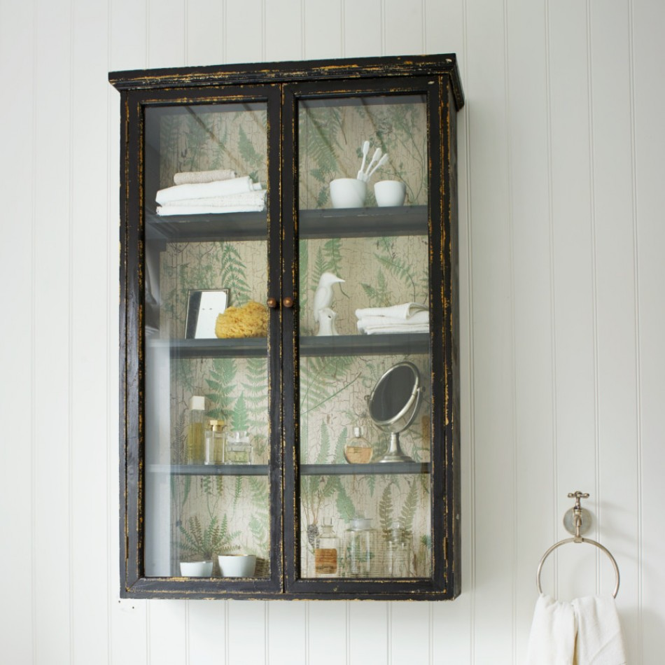 glass fronted wall cabinet cabinets amp shelving furniture