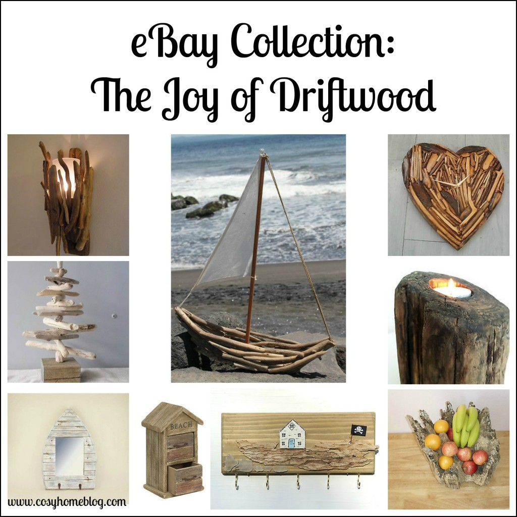 Add the rustic charm of driftwood into your home