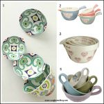 Cosy home baking: Pretty measuring cups