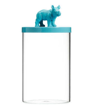 Funky animal jar