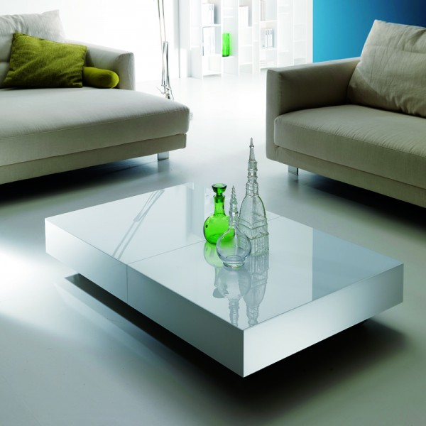 coffee table into dining table