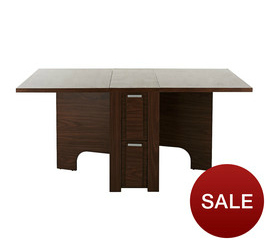 Compact space saving dining table