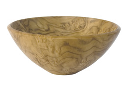 Chilean laurel bowl by Richard Shock