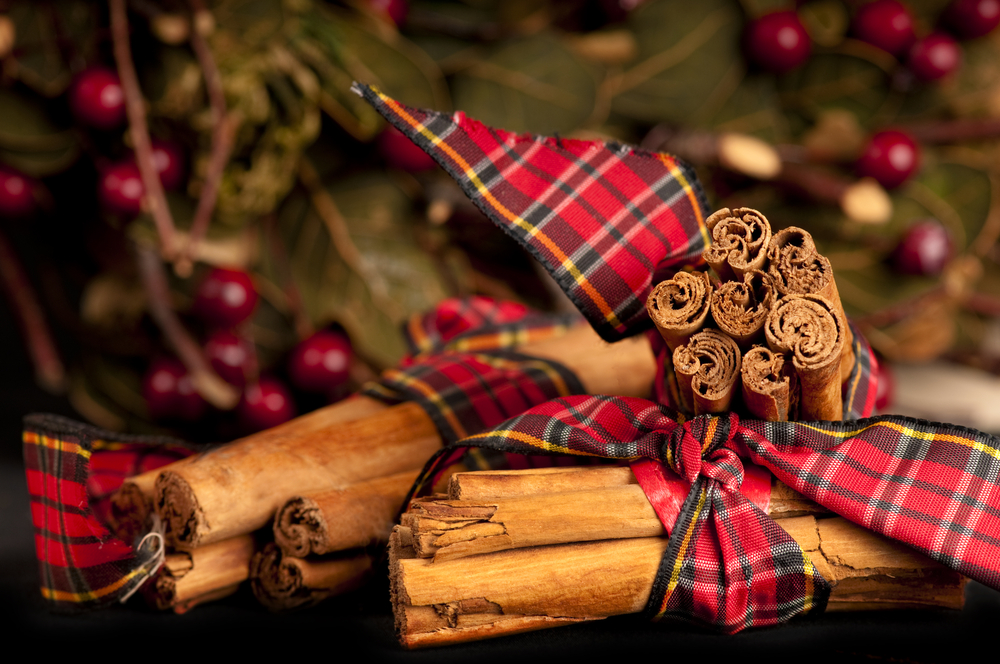Create a cosy home with tartan Christmas decorations