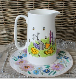Beekeepers' custard jug
