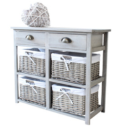 Melody Maison wicker storage unit