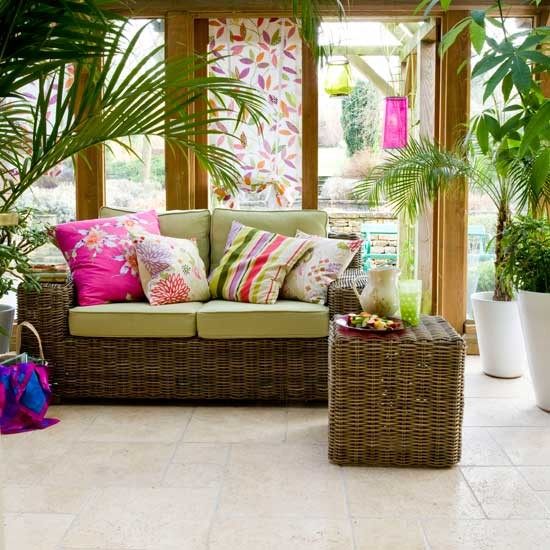 Relax and unwind in a conservatory