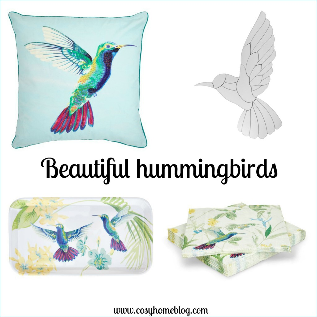 Beautiful hummingbird designs for a cosy home