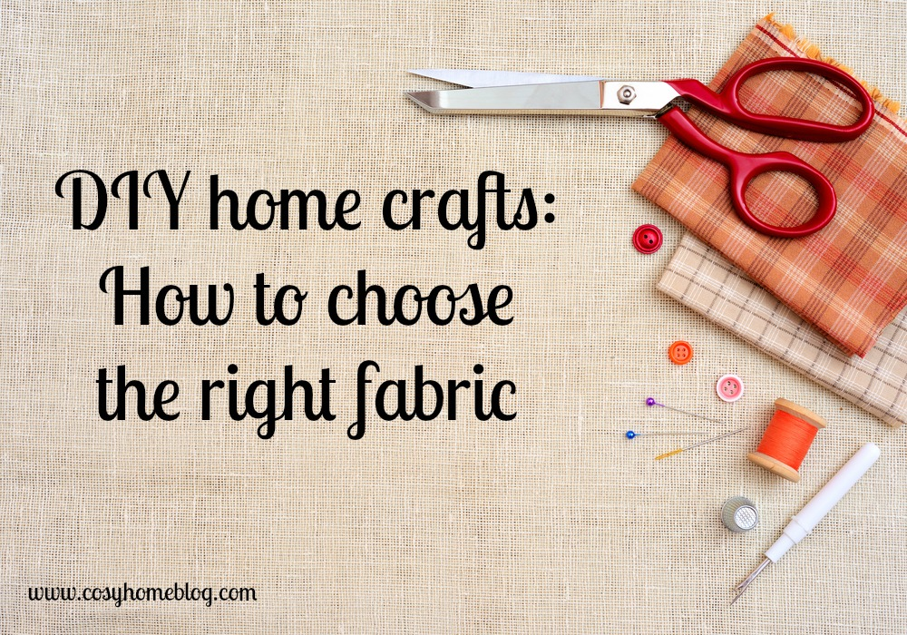 Cosy Home guide to making your own soft furnishings