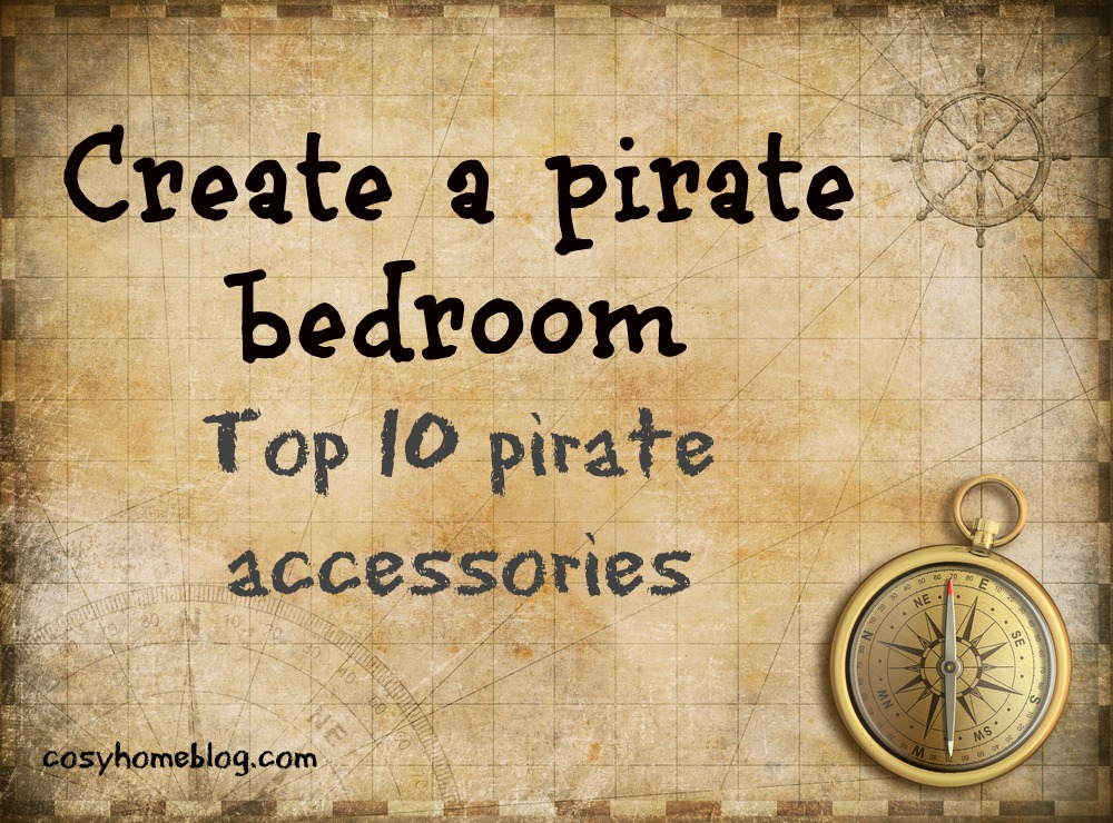 How to create a chidren's pirate theme room