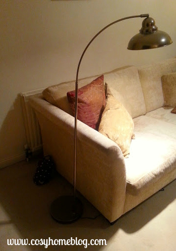 Cosy Home blog review of the Dynamo floor lamp