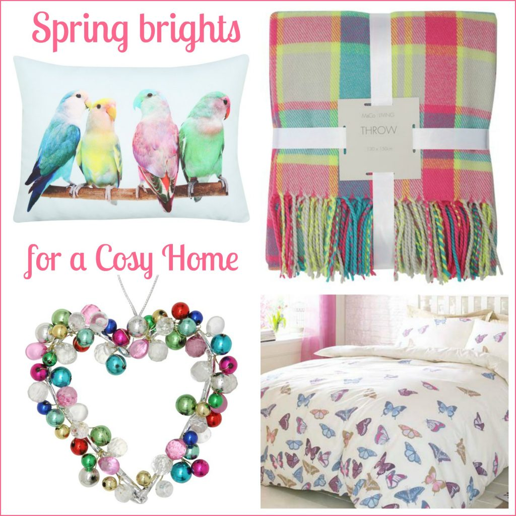 High street homeware: Colourful spring home updates from M&Co